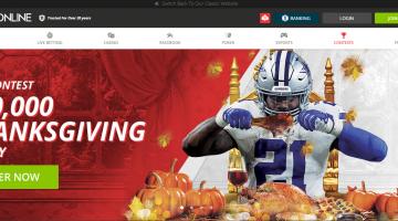 BetOnline Thanksgiving Parlay Contest