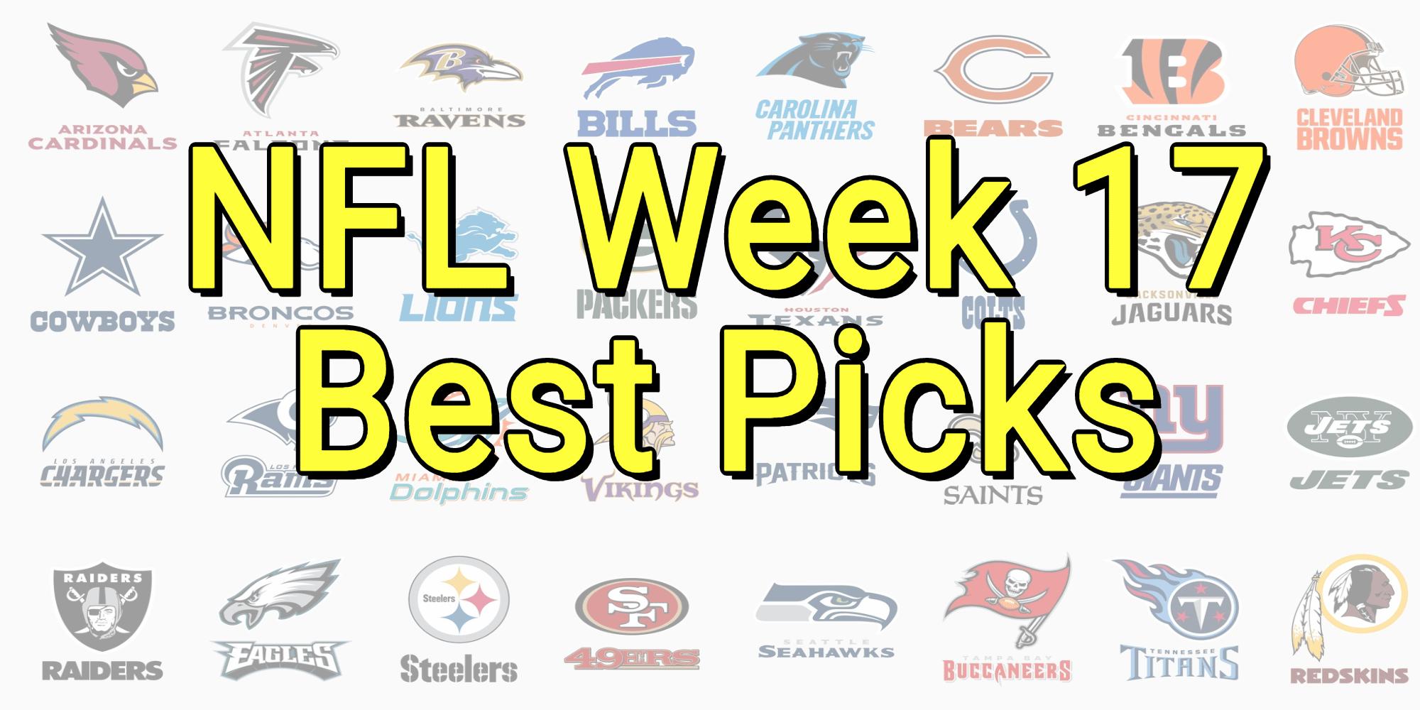 NFL betting Picks Week 17 2021