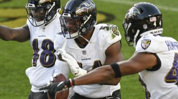 Ravens' Odds to Make the NFL Playoffs Fall to -250 After Loss to Steelers