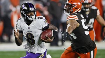 Ravens' Odds to Win the Super Bowl Improve to +1700 After Beating Browns