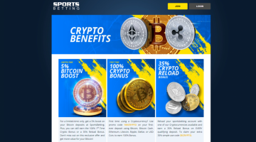 5% Bitcoin Boost on your betting Deposits